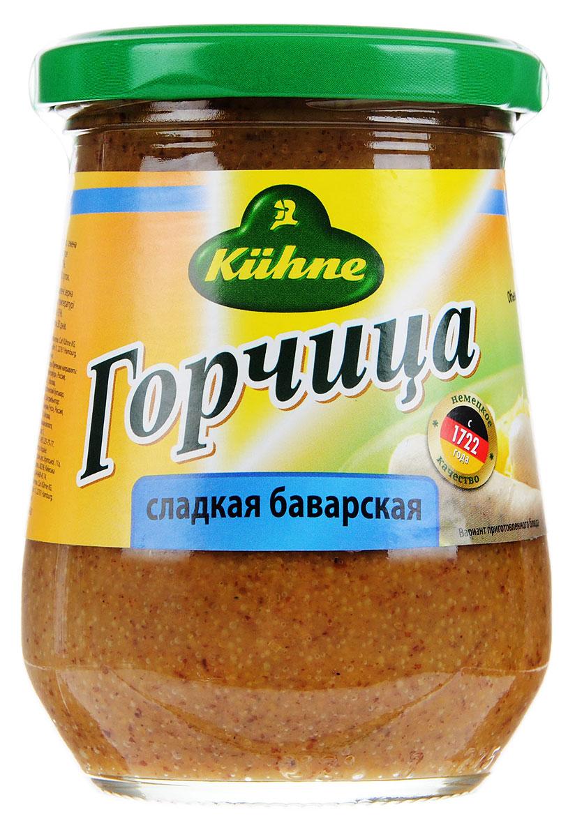 все цены на Kuhne Mustard Sweet горчица сладкая баварская, 260 г онлайн