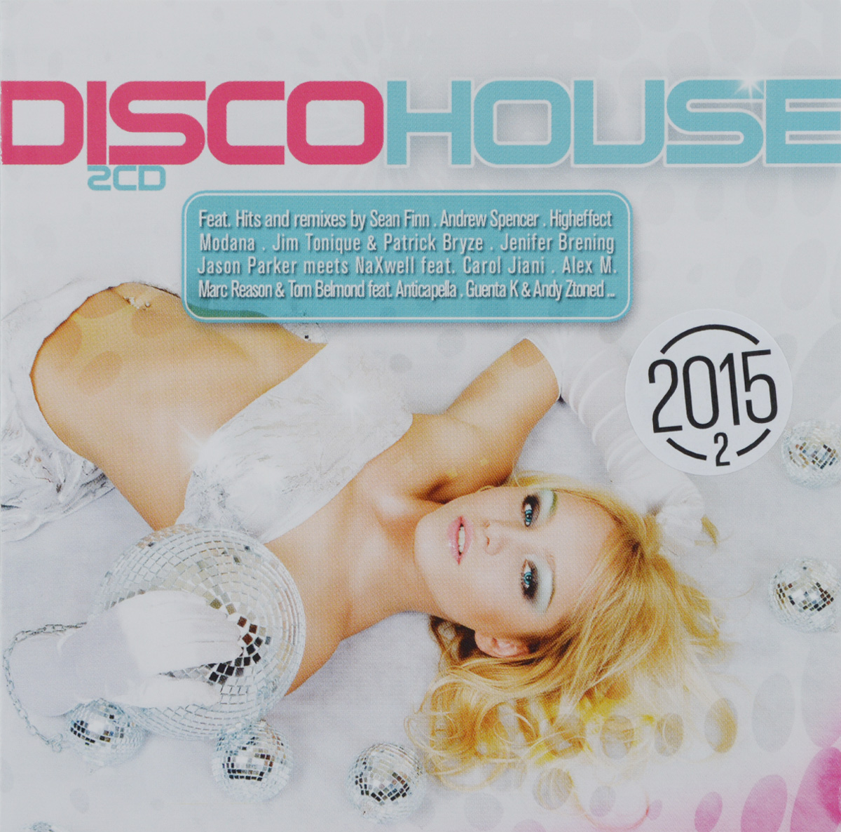 Disco House 2015 (2 CD) disco house 2016 2 cd