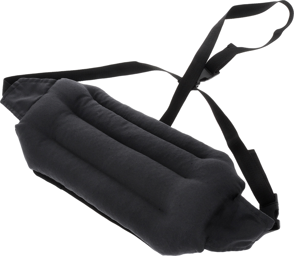 Подушка под спину Smart Textile Офис, наполнитель: лузга гречихи, 40 х 20 см подушка под спину smart textile дальнобойщик арт t311 серый