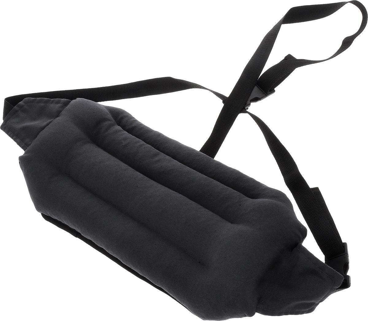 Подушка под спину Smart Textile Офис, наполнитель: лузга гречихи, 40 х 20 см аксессуар подушки на ремень безопасности smart textile автоуют детский совушка