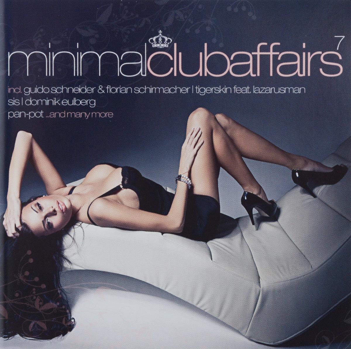Фото - Minimal Club Affairs. Vol. 7 (2 CD) minimal house 2 cd