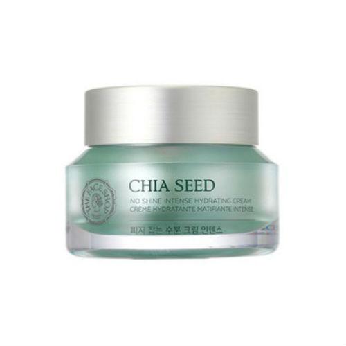 The Face Shop Увлажняющий крем для лица с семенами дерева Ши Chia Seed, 50 мл матирующий крем для лица the face shop chia seed no shine hydrating cream