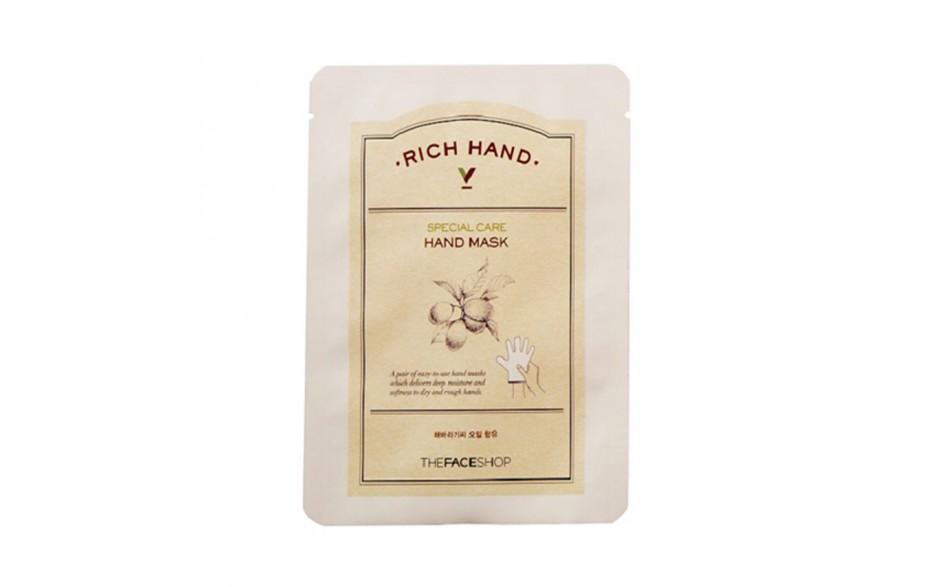 The Face Shop Маска для рук Rich Hand, 1,6 г недорого