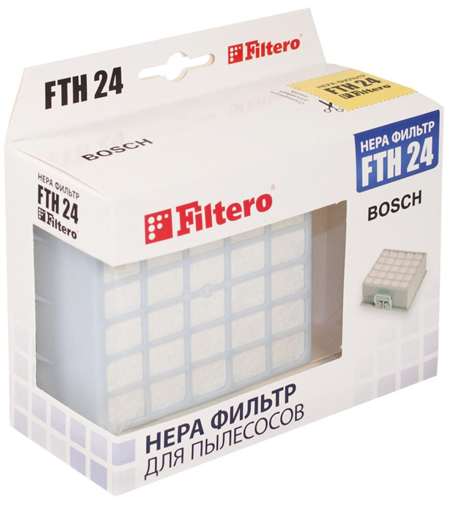 Filtero FTH 24 BSH фильтр для пылесосов Bosch & Siemens фильтр filtero fth 23 bsh