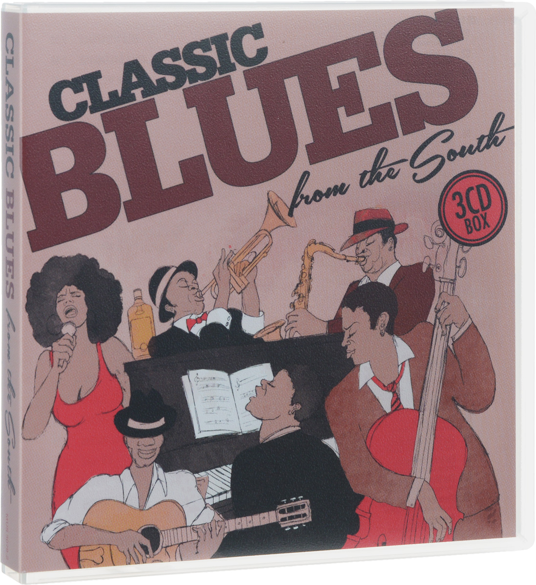 Classic Blues From The South (3 CD)