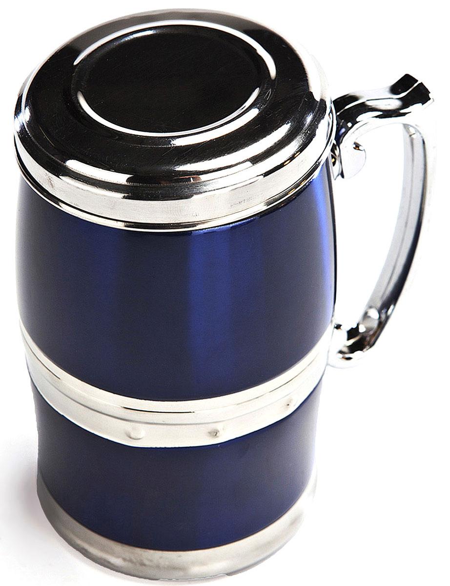 Кружка магнитная Bradex Живая вода, цвет: синий, 350 мл