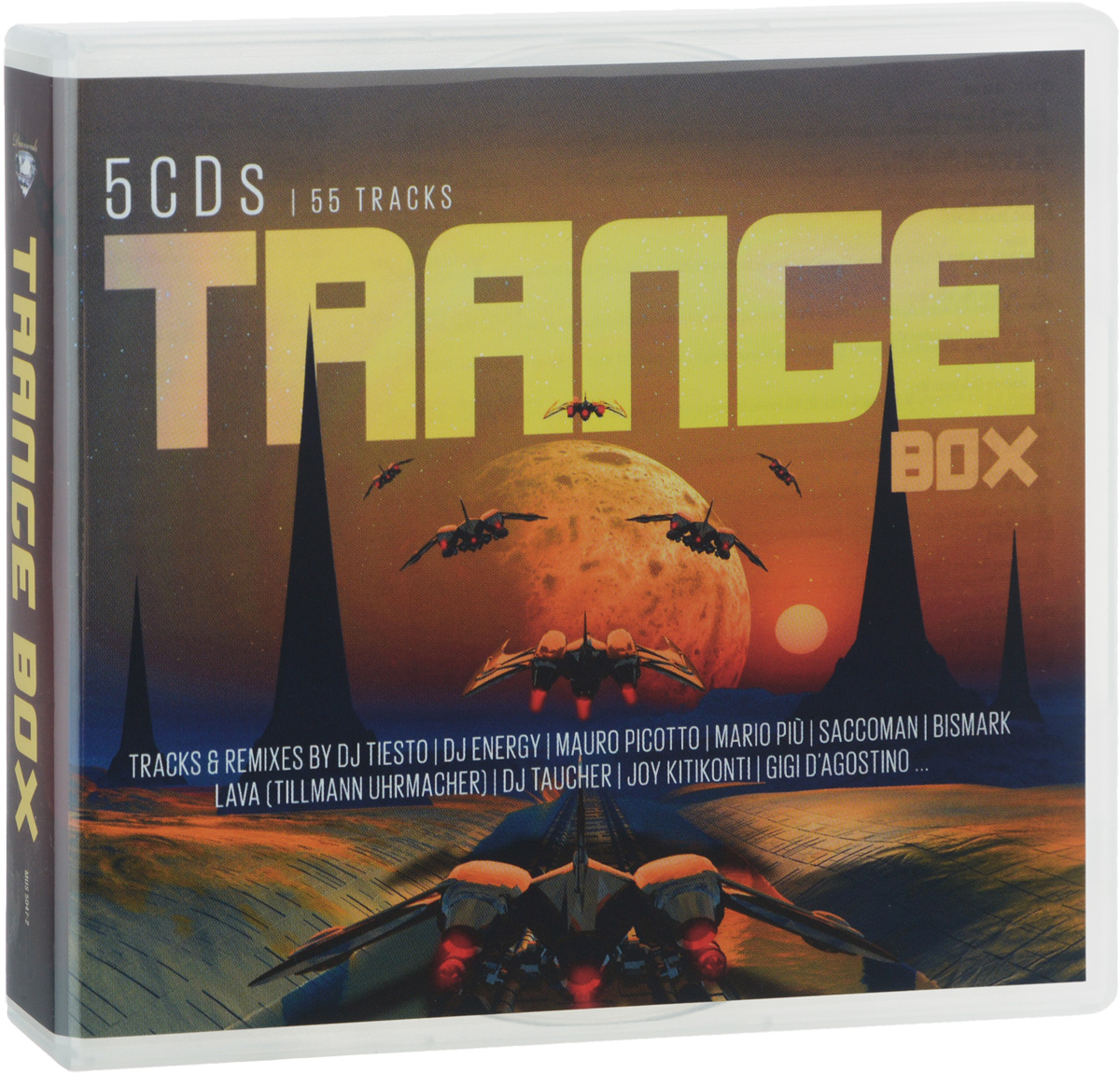 цена на Марио Пиу Trance Box (5 CD)