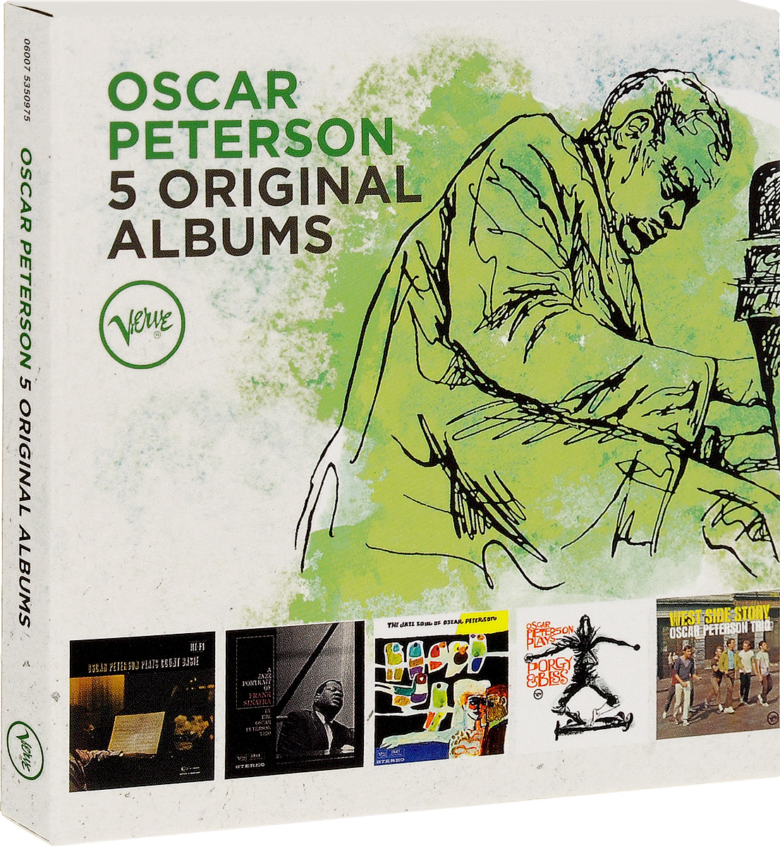 Оскар Питерсон Oscar Peterson. 5 Original Albums (5 CD) оскар питерсон oscar peterson the song books 5 cd