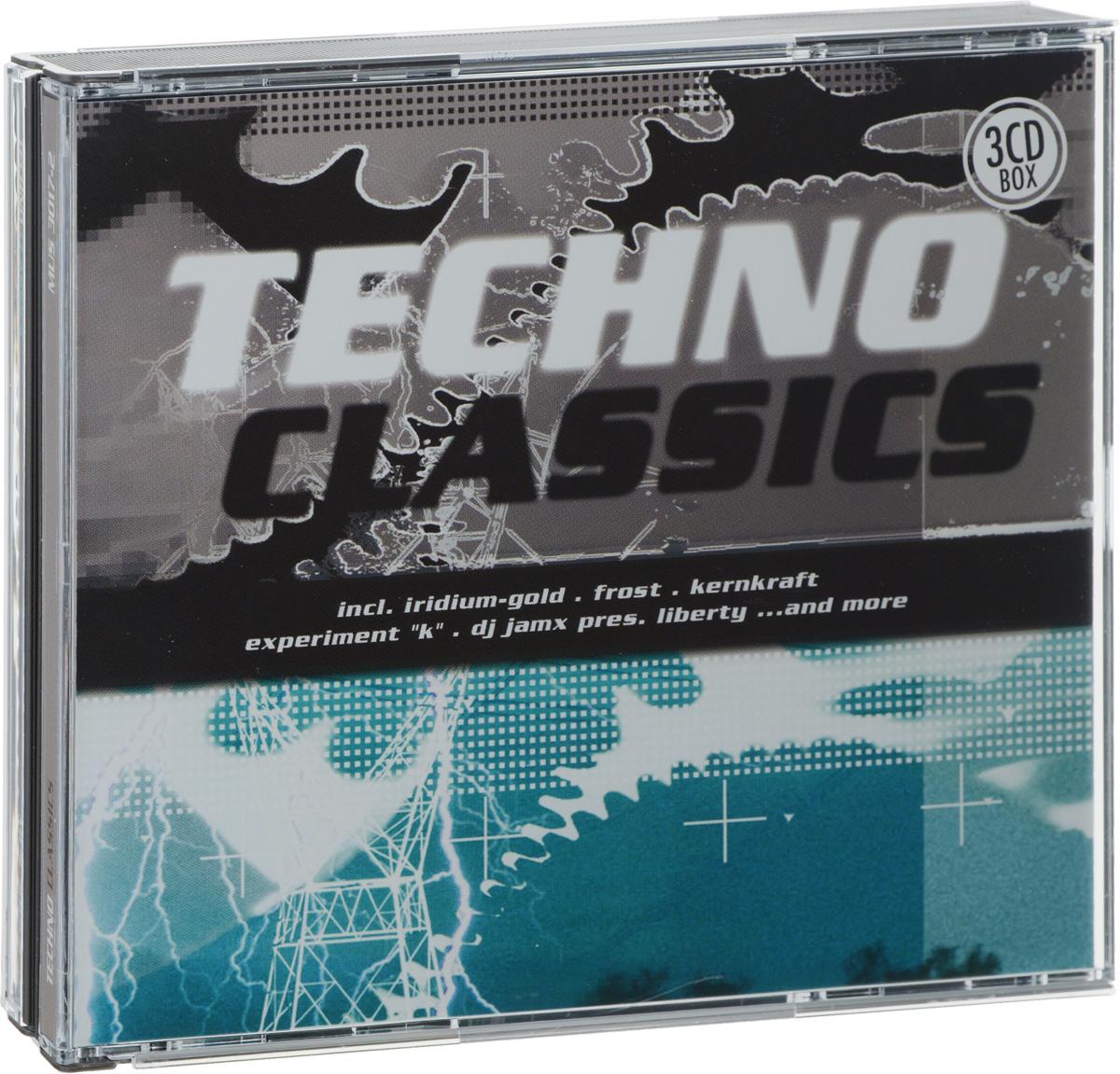 Techno Classics (3 CD) цена 2017