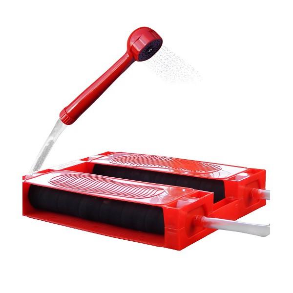 Душ-топтун Zenet, цвет: красный