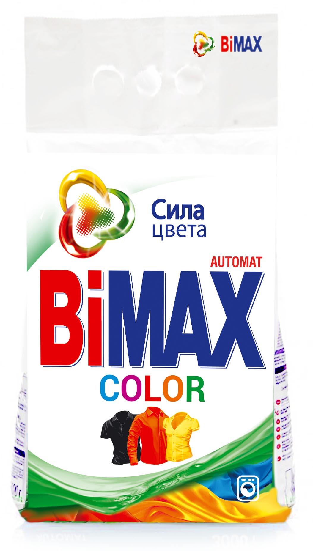 Стиральный порошок BiMax Color, 6 кг стиральный порошок bimax color 1 5 кг