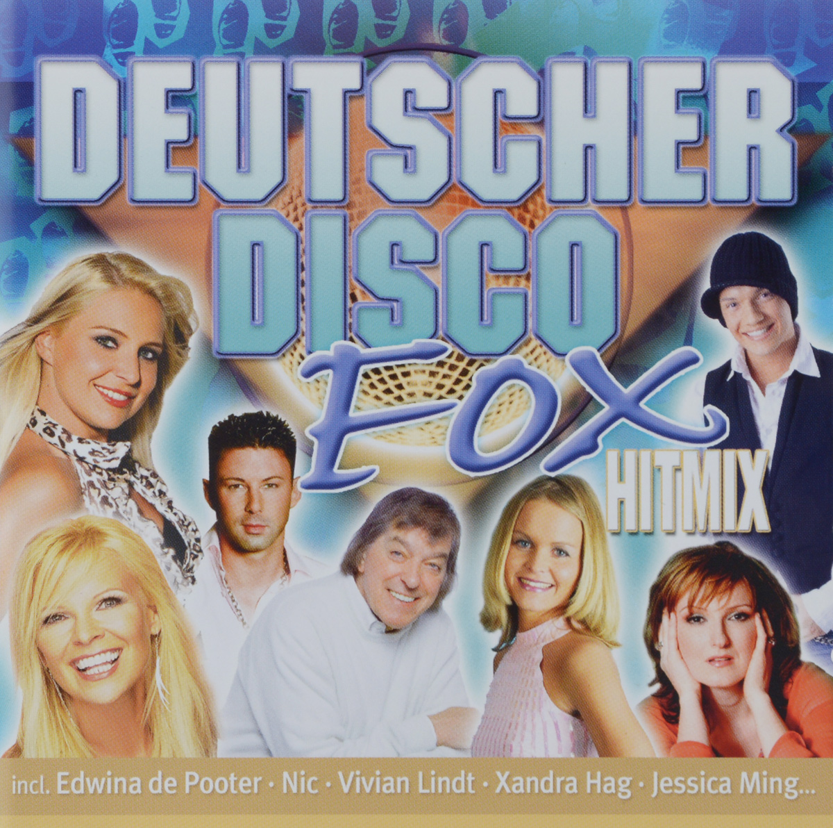 Deutscher Disco Fox Hitmix (2 CD) цена 2017