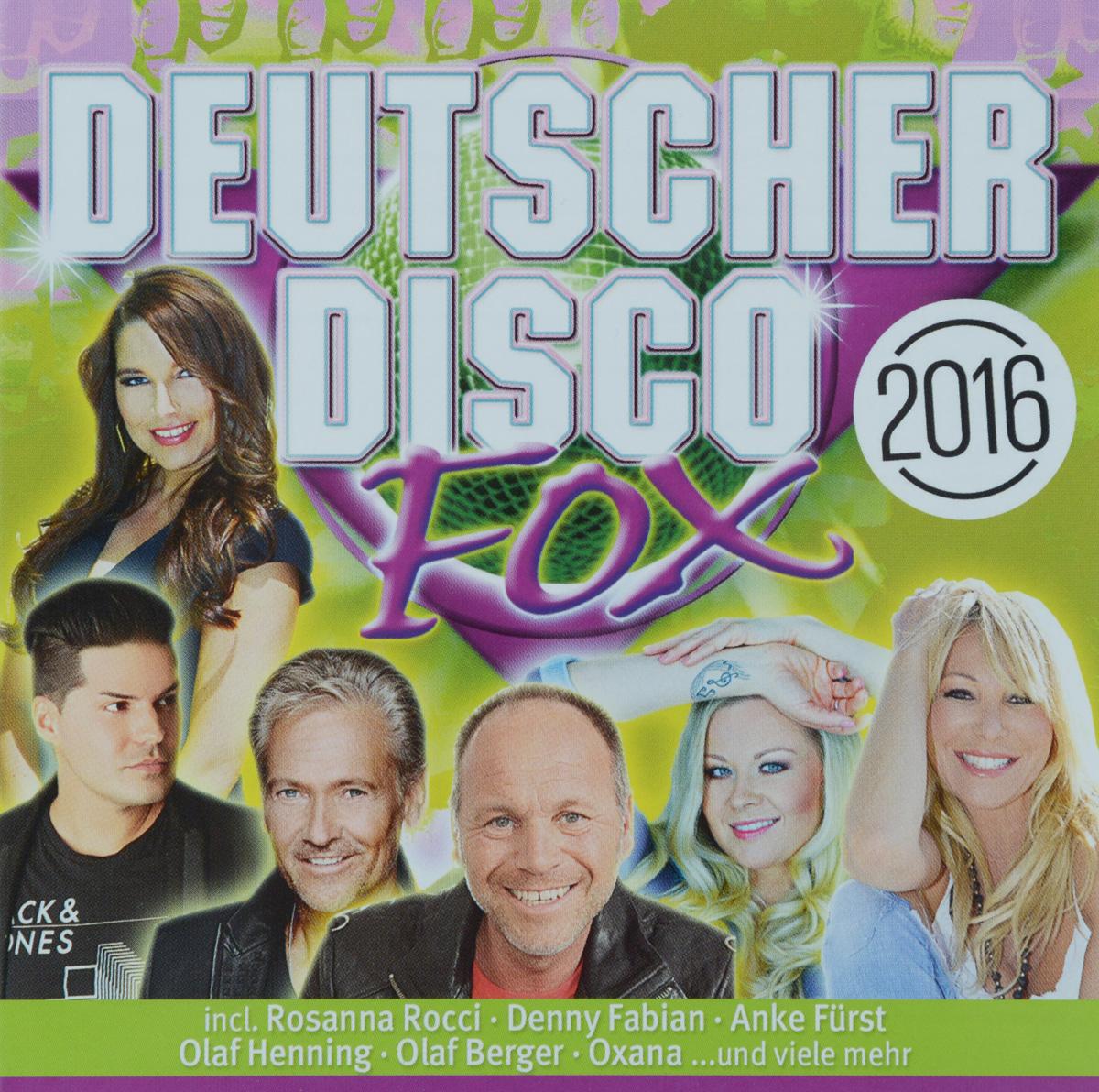 Сэнди Вагнер Deutscher Disco Fox 2016 (2 CD) norman langen undine lux denny fabian nico gemba jorg bausch annemarie eilfeld linda fah cordalis anni perka g g anderson deutscher disco fox 2017 2 cd