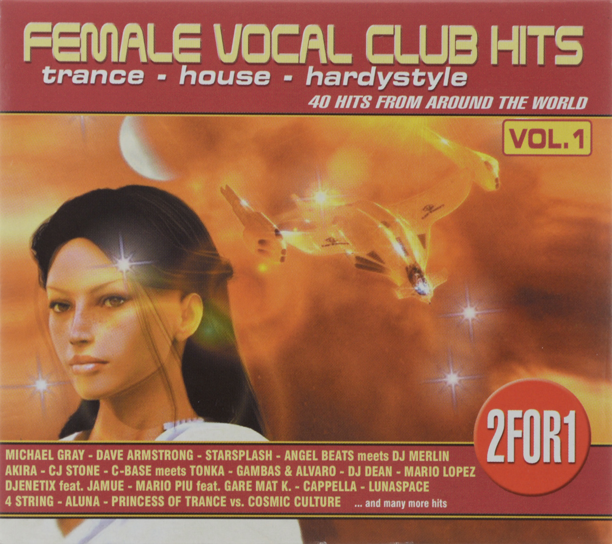 цена Female Vocal Club-Hits (2 CD) онлайн в 2017 году