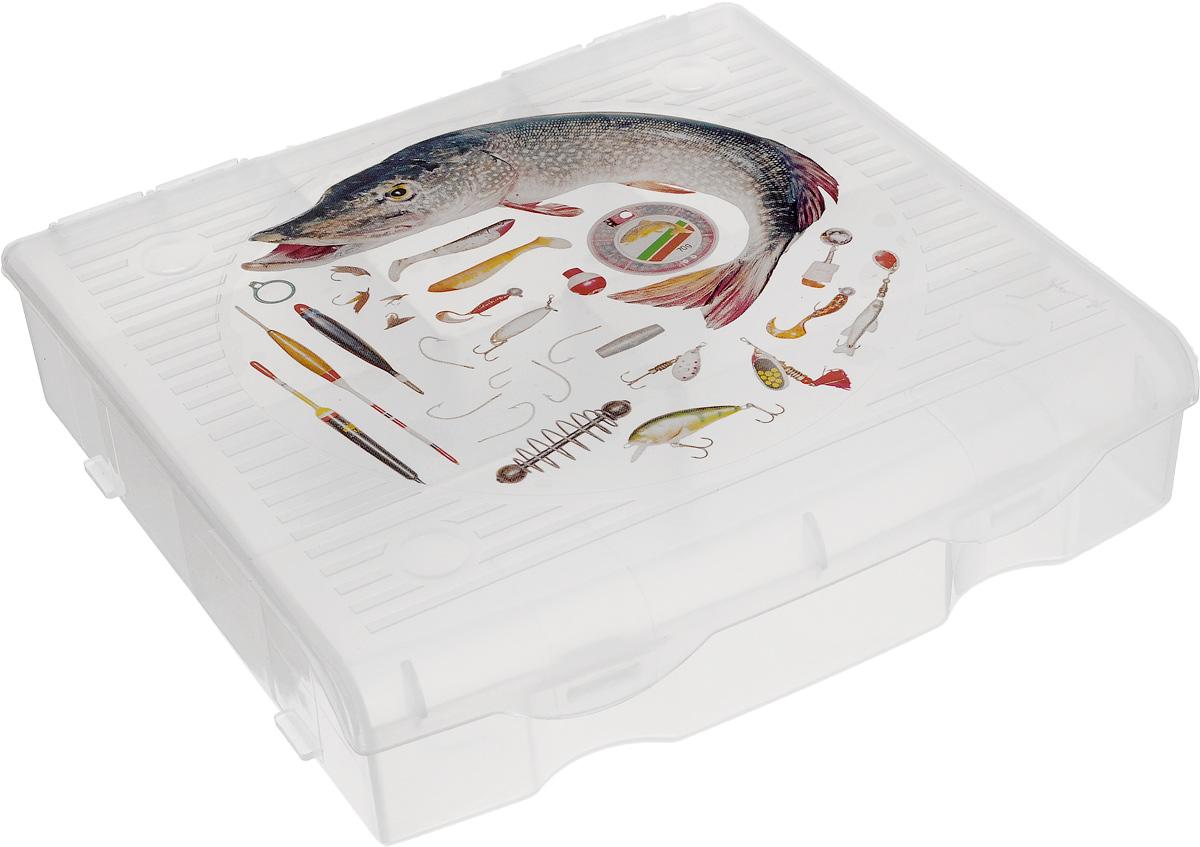 Органайзер для рыболовных принадлежностей Blocker, 9 секций, 17 х 16 х 4,5 см цена