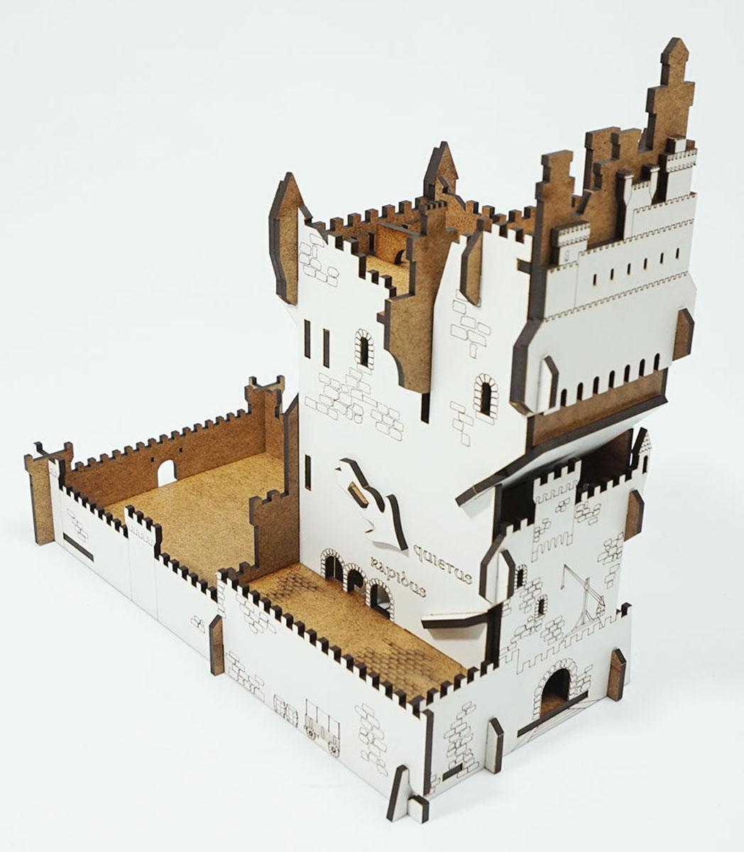 Аксессуар для настольных игр LP002-064 башня для бросания кубиков dice tower тотем орков