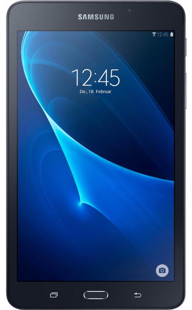 """7"""" Планшет Samsung Galaxy Tab A Wi-Fi (2016) 8 GB, черный"""