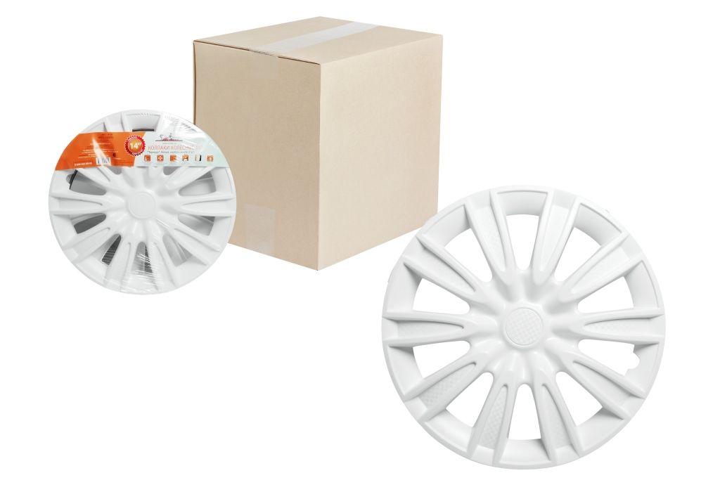 Колпаки колесные Airline Торнадо, цвет: белый, 14, 2 шт. AWCC-14-08 колпаки 14 k2