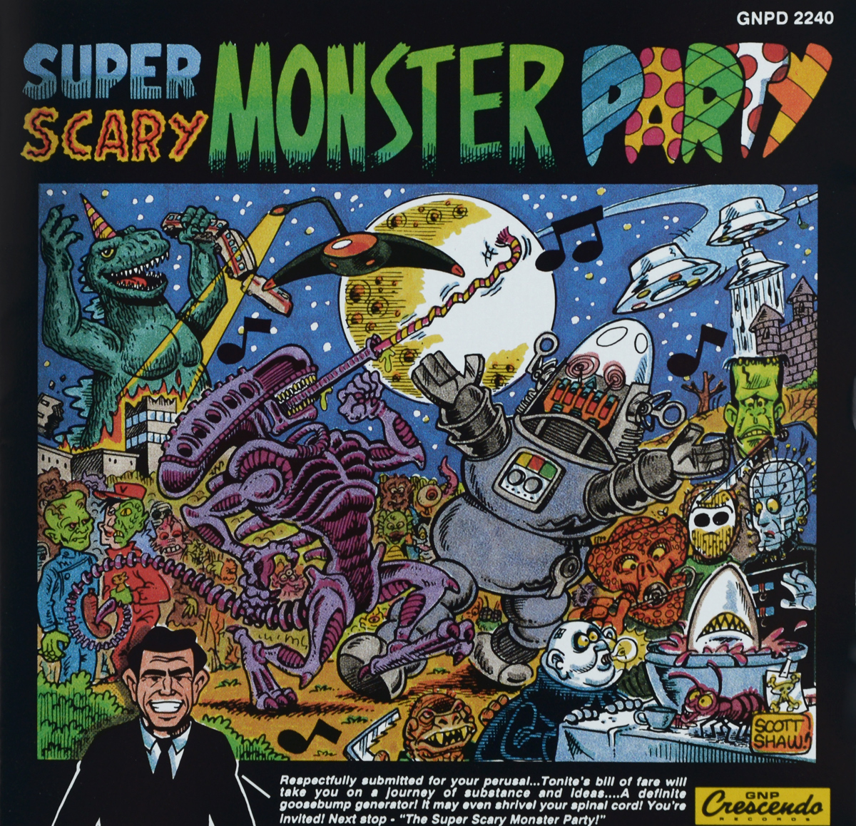 Super Scary Monster Party scheffler axel the scary monster