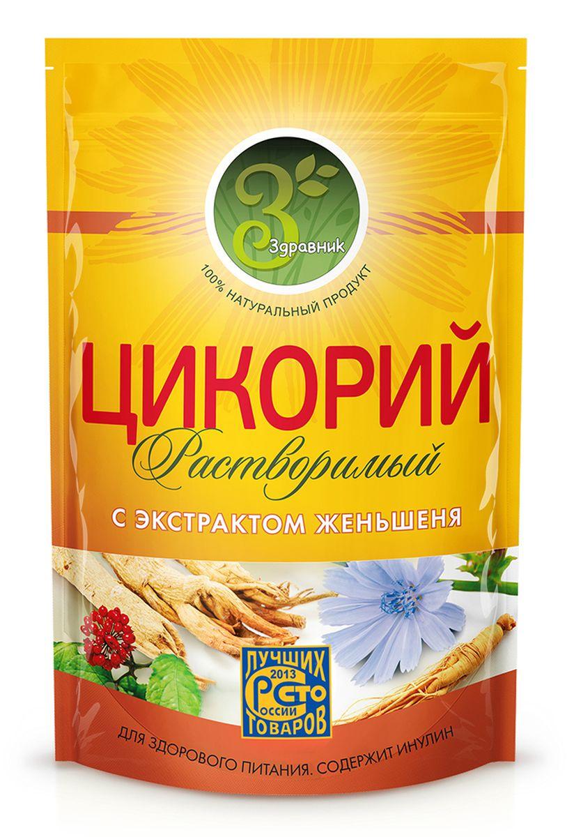 Здравник цикорий с экстрактом женьшеня, 85 г цикорий растворимый натуральный fitolain 100 г