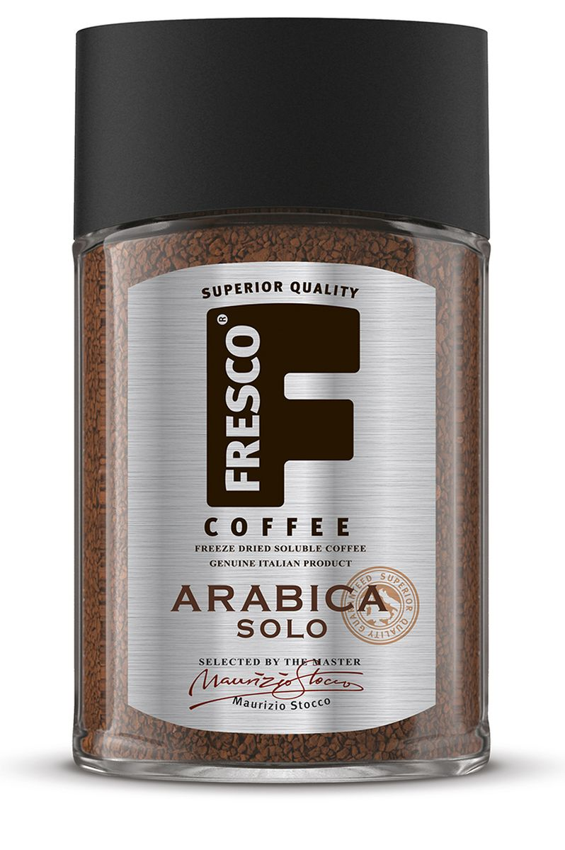 Fresco Arabica Solo кофе растворимый, 100 г today pure arabica кофе растворимый 95 г