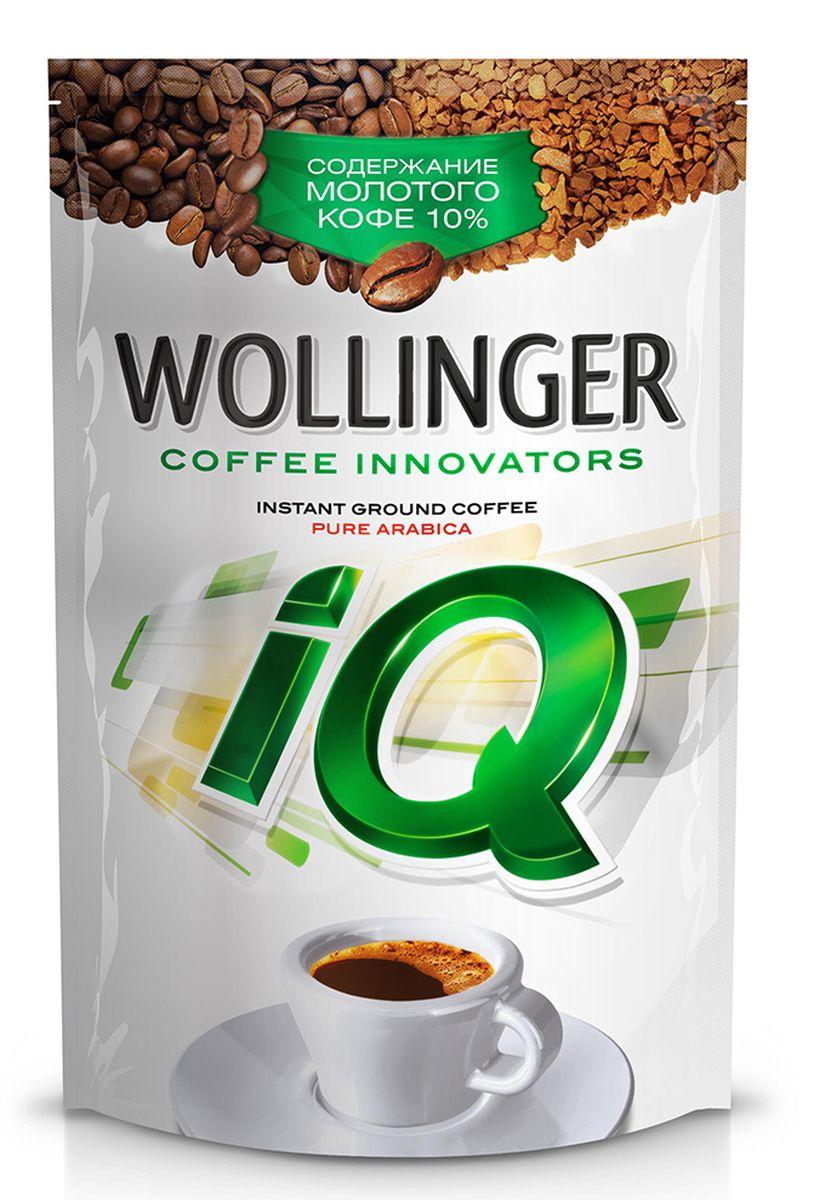 Wollinger IQ кофе растворимый с добавлением молотого, 150 г wollinger кофе растворимый 75 г
