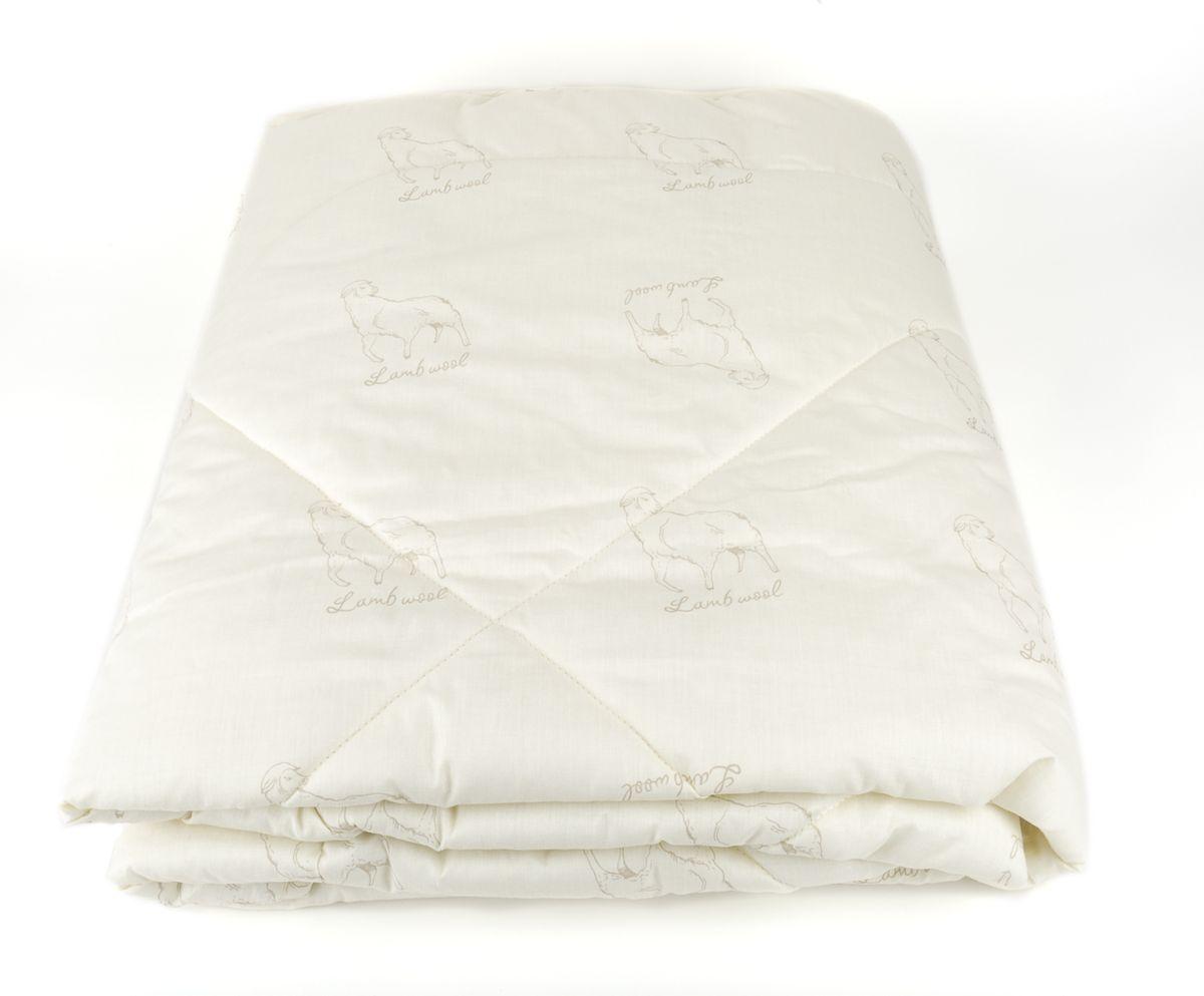 Одеяло Classic by T Меринос-натурэль, наполнитель: шерсть, полиэфир, цвет: экрю, 175 х 200 см одеяло classic by t кашемир натурэль наполнитель кашемир полиэфир цвет бежевый 175 х 200 см