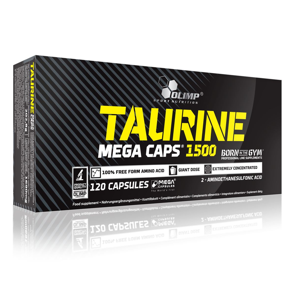 "Таурин Olimp Sport Nutrition ""Mega Caps"", 120 капсул"