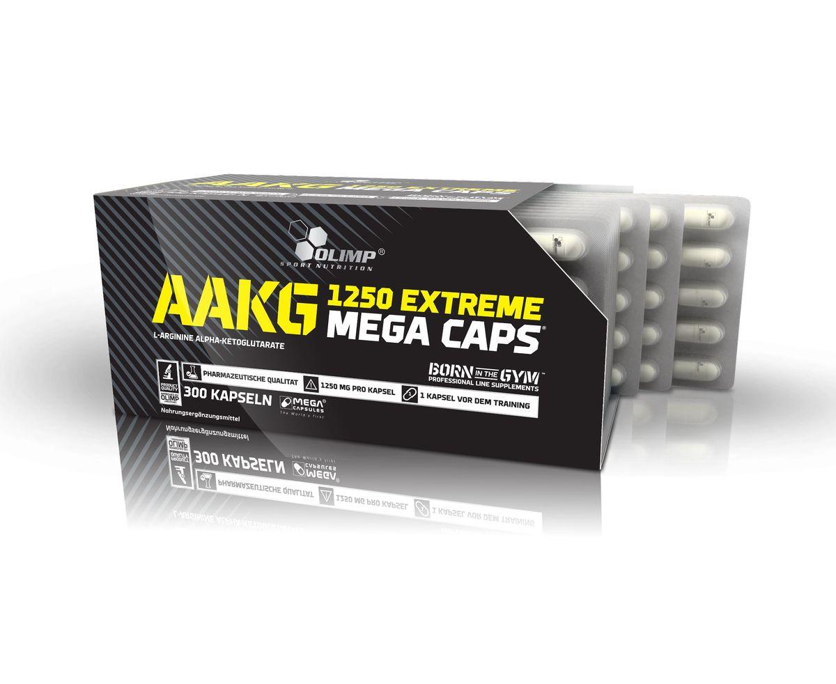 OLIMP Аминокислотный комплекс ААКГ Икстрим, 300 капс креатин olimp sport nutrition mega caps 120 капсул