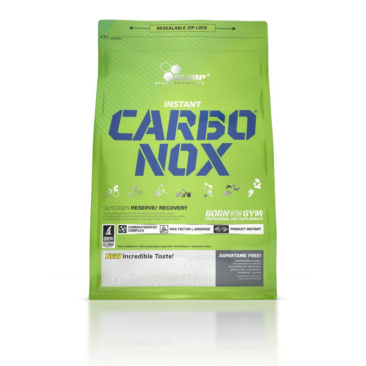 Энергетический напиток Olimp Sport Nutrition Carbo Nox, лимон, 1 кг напиток изотонический olimp iso plus powder лимон 700г