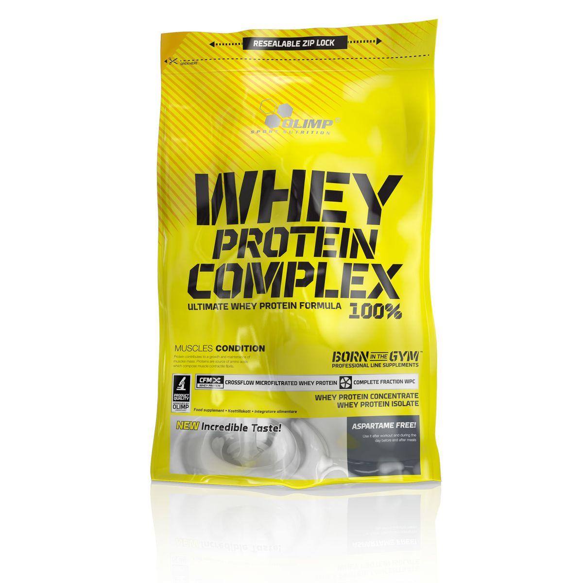 Протеин Olimp Sport Nutrition Whey Protein Complex 100%, ваниль, 0,7 кг гейнер olimp sport nutrition gain bolic 6000 ваниль 3500 г