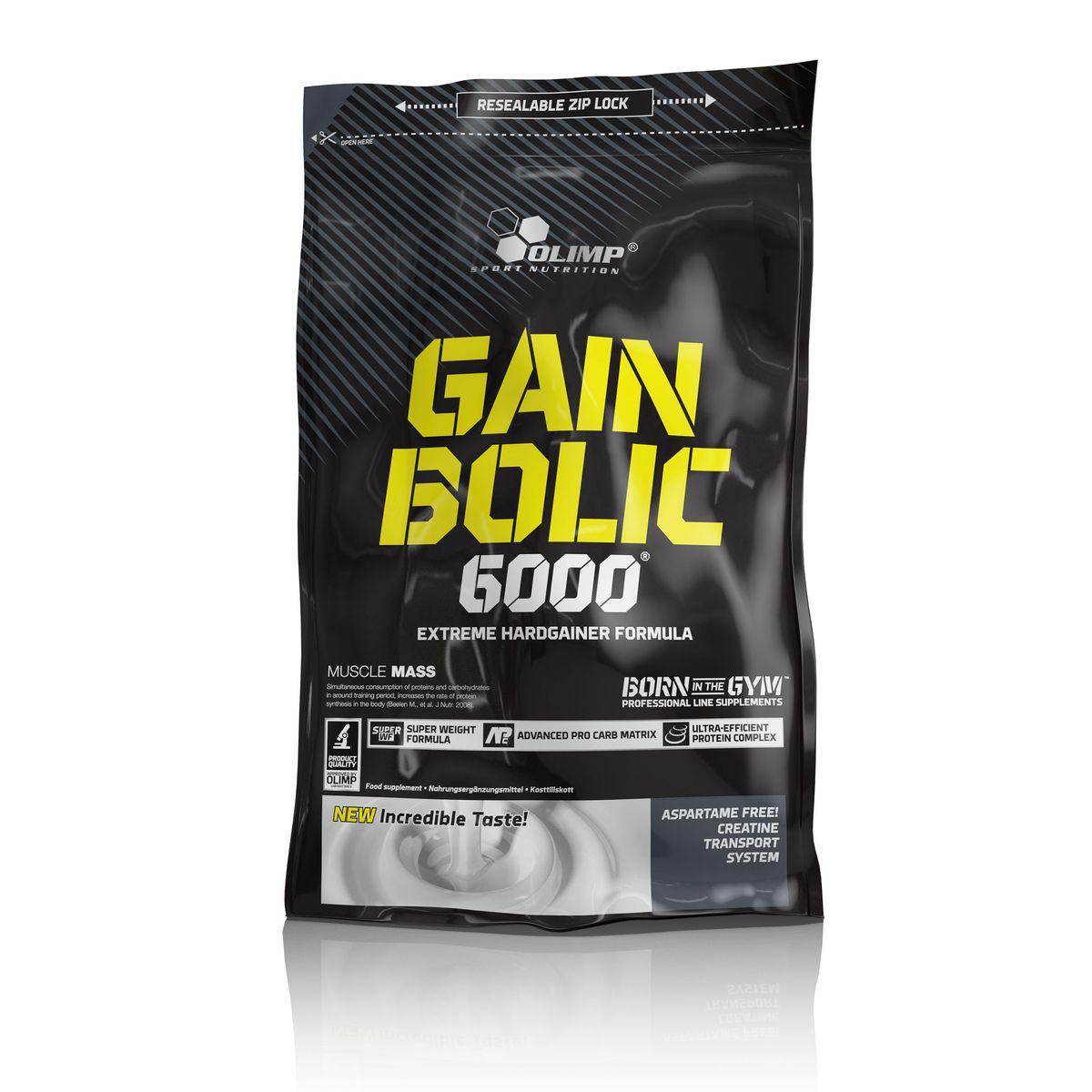 Гейнер Olimp Sport Nutrition Gain Bolic 6000, ваниль, 1 кг гейнер olimp sport nutrition gain bolic 6000 ваниль 3500 г