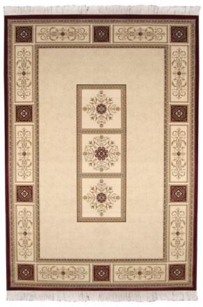 "Ковер Oriental Weavers ""Кастл"", цвет: коричнево-красный, 120 х 180 см. 520 Z"