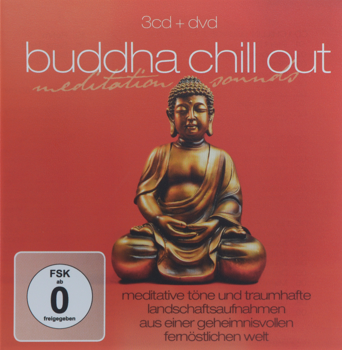 Buddha Chill Out. Meditation Sounds (3 CD + DVD) buddha sounds buddha sounds v new mantrams