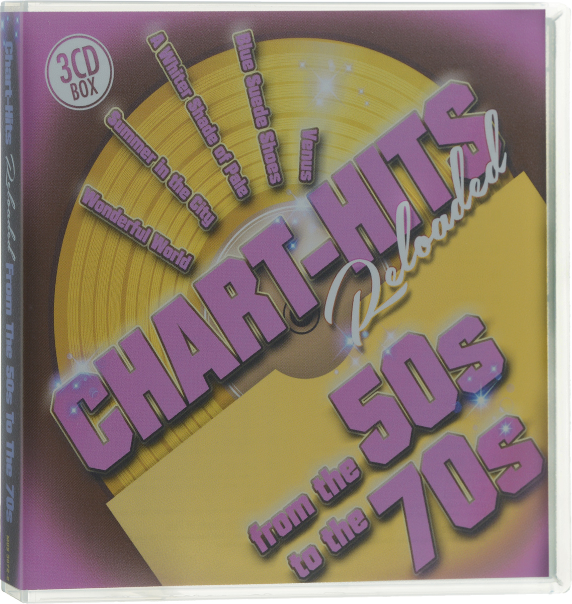 Chart-Hits Reloaded From The 50s To 70s (3 CD)