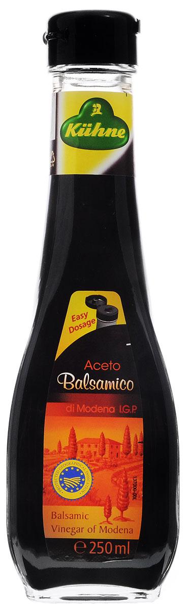 Kuhne Aceto Balsamico di Modena уксус бальзамический, 250 мл ponti топпинг соевый glassa alla soia на основе бальзамического уксуса di modena 250 мл
