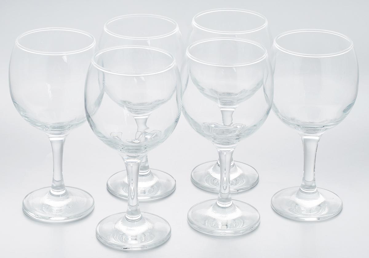 Фото - Набор бокалов Pasabahce Bistro, 290 мл, 6 шт набор бокалов для мартини pasabahce bistro 170 мл