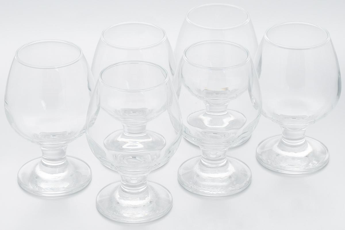 Набор бокалов Pasabahce Bistro, 250 мл, 6 шт набор подсвечников pasabahce алания высота 5 5 см 6 шт