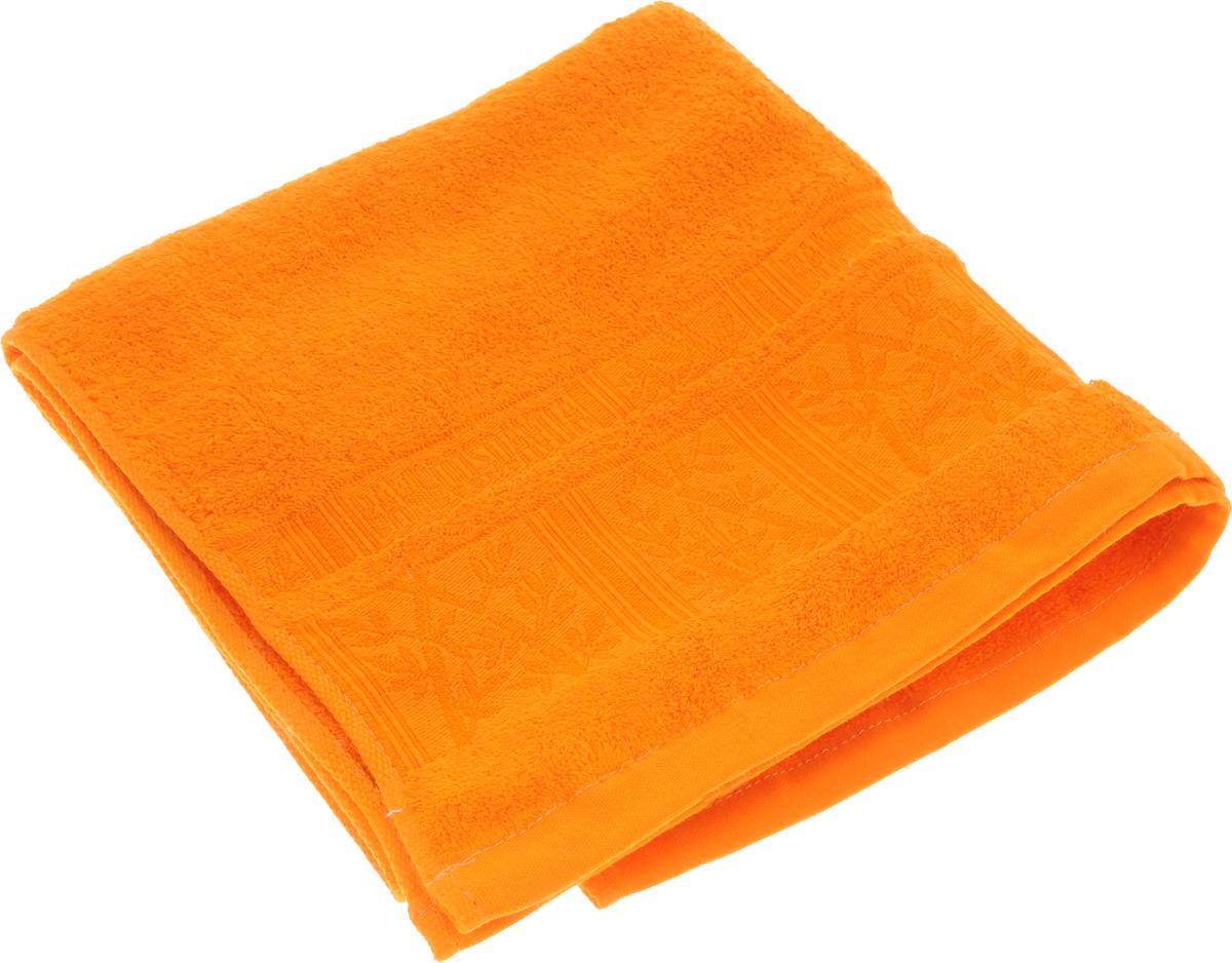 Полотенце Soavita Sofia, цвет: оранжевый, 50 х 90 см полотенца soavita полотенце добби 50х70 см