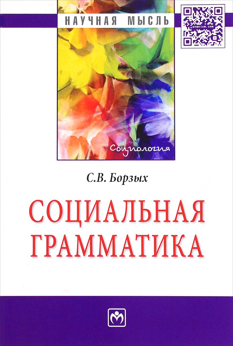 С. В. Борзых Социальная грамматика