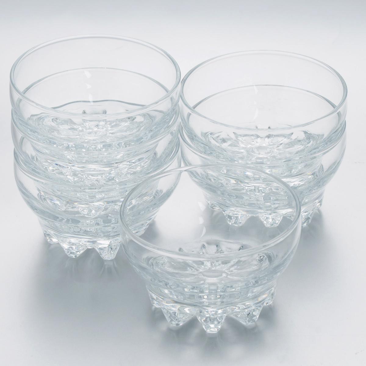 Набор салатников Pasabahce Sylvana, диаметр 10,2 см, 6 шт набор питьевой pasabahce sylvana 7 предметов
