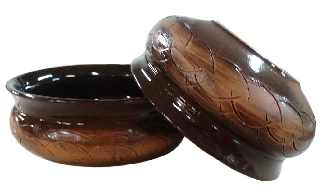 Тарелка глубокая Борисовская керамика Скифская, цвет: коричневый, 800 мл. СТР14457936 тарелка глубокая борисовская керамика скифская цвеит мятный розовый 800 мл