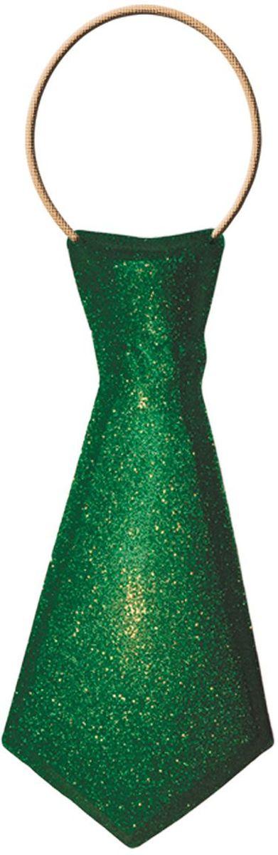 Partymania Галстук карнавальный цвет зеленый partymania очки для вечеринок губы