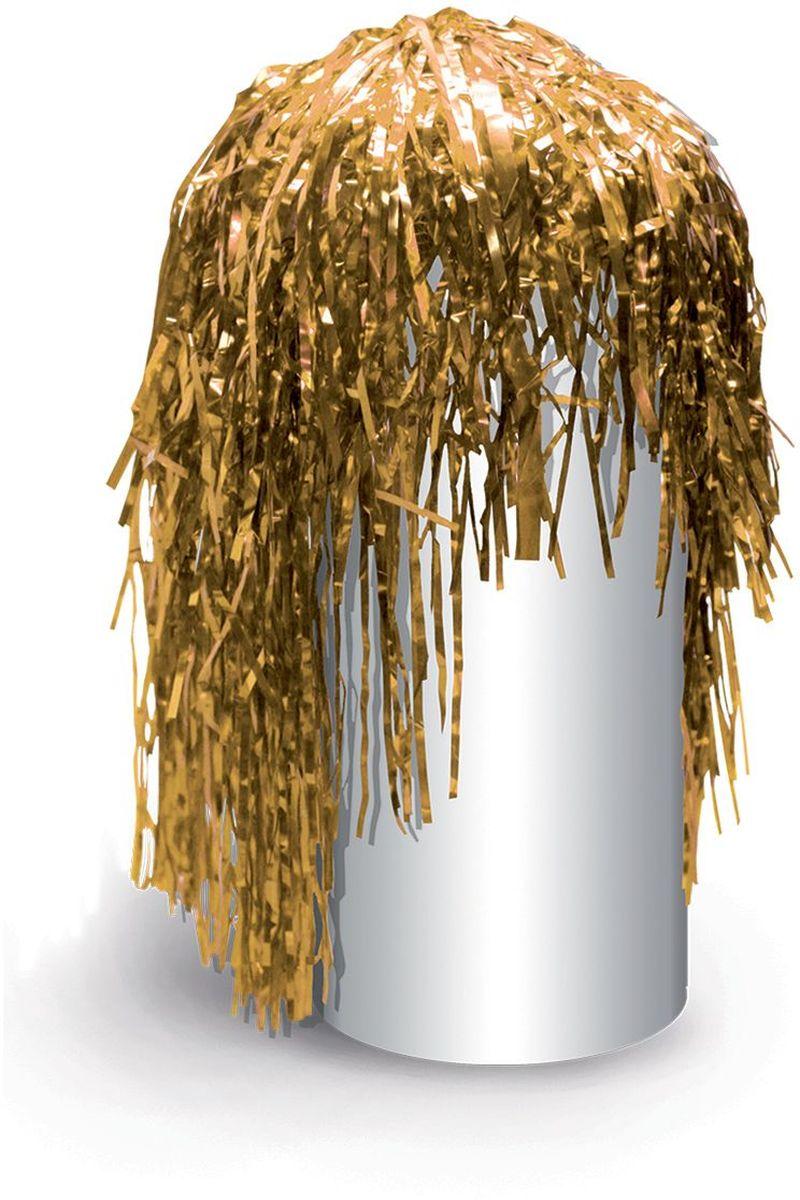 Фото - Partymania Маскарадный парик из дождика Веселый праздник цвет золотистый парик косплей cosleader perucas sallei peluca wig 028a