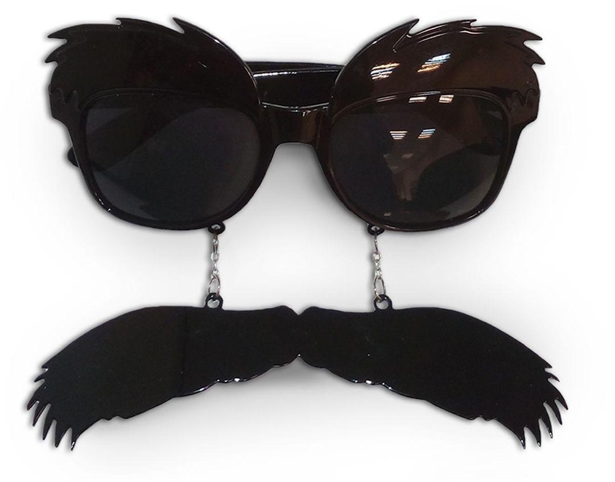 Partymania Очки для вечеринок Усы и брови partymania очки для вечеринок губы