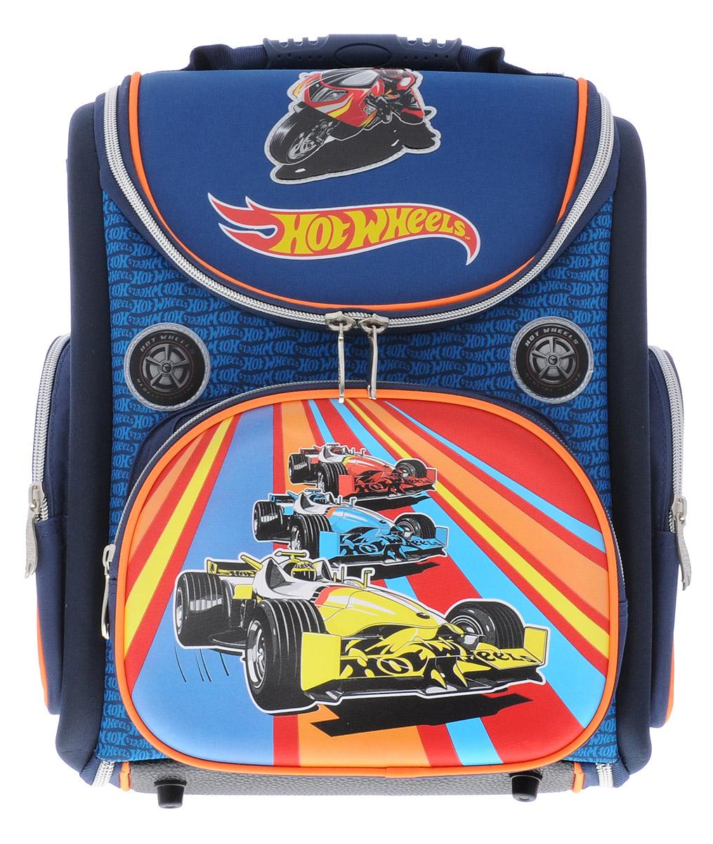 dd11a185f73a Hatber Школьный ранец Hot Wheels — купить в интернет-магазине OZON.ru с  быстрой доставкой