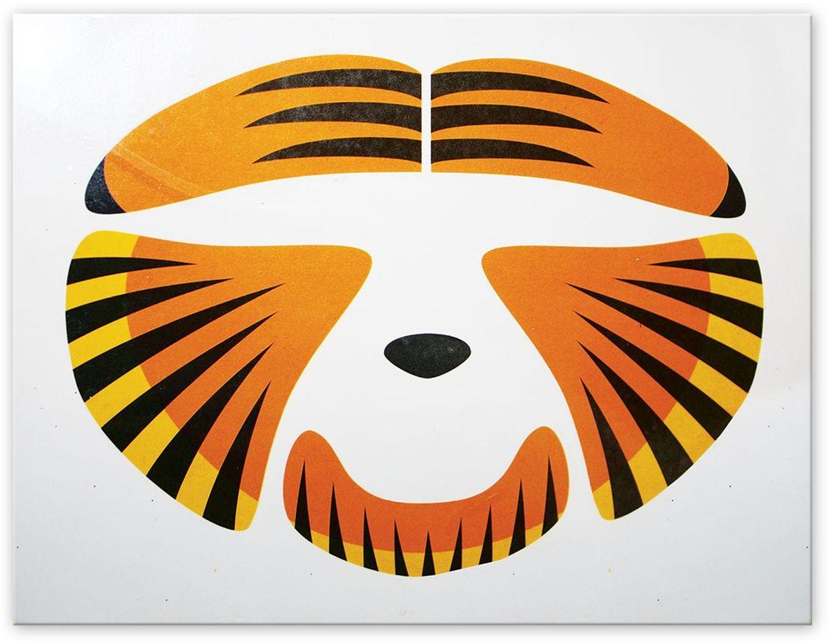цена Partymania Украшение-стикер для лица Тигр в интернет-магазинах