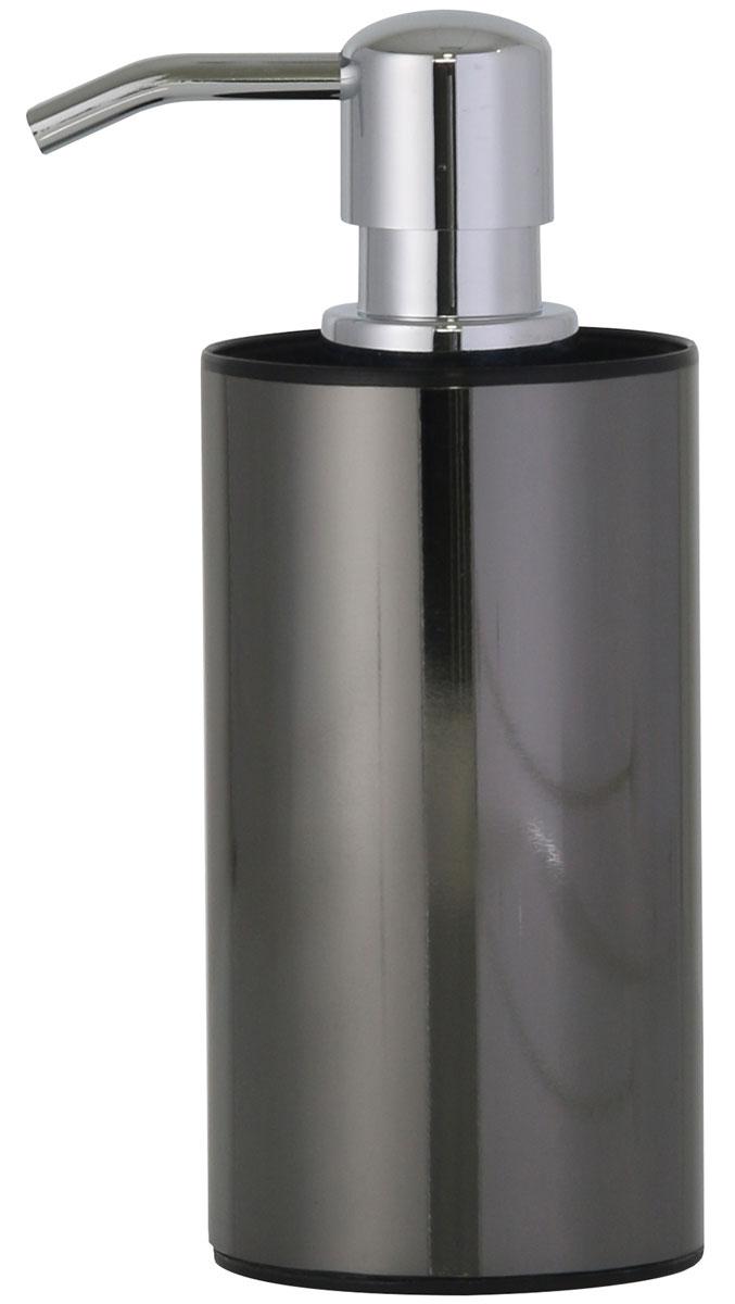 """Дозатор для жидкого мыла Axentia """"Bologna"""", цвет: черный"""