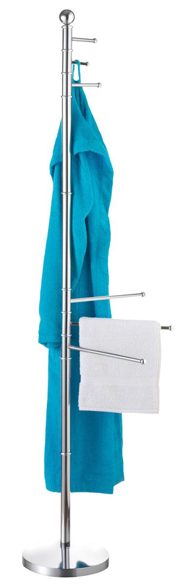 Вешалка для ванной Axentia, напольная, 35 х 25 х 177 см вешалка напольная axentia galant д полотенец сталь хромированная на основании мрамор