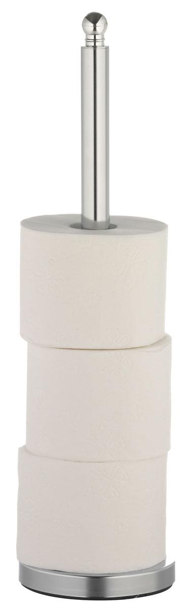 Накопитель для туалетной бумаги Axentia, для 4 рулонов, высота 51 см держатель для туалетной бумаги axentia с накопителем для 3 рулонов высота 66 см